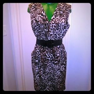 Kasper size 4 dress with pockets